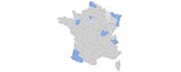 Carte des installateurs eedomus en France